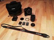Canon EOS 1300D Mit Zubehör