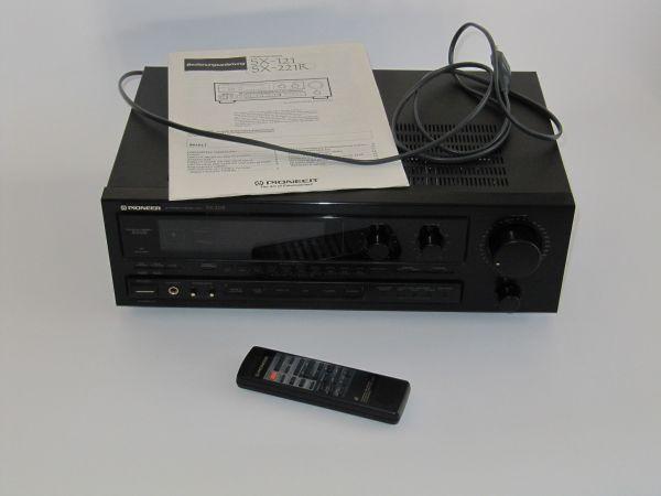 Pioneer Stereo-Receiver » Verstärker, Equalizer, Receiver