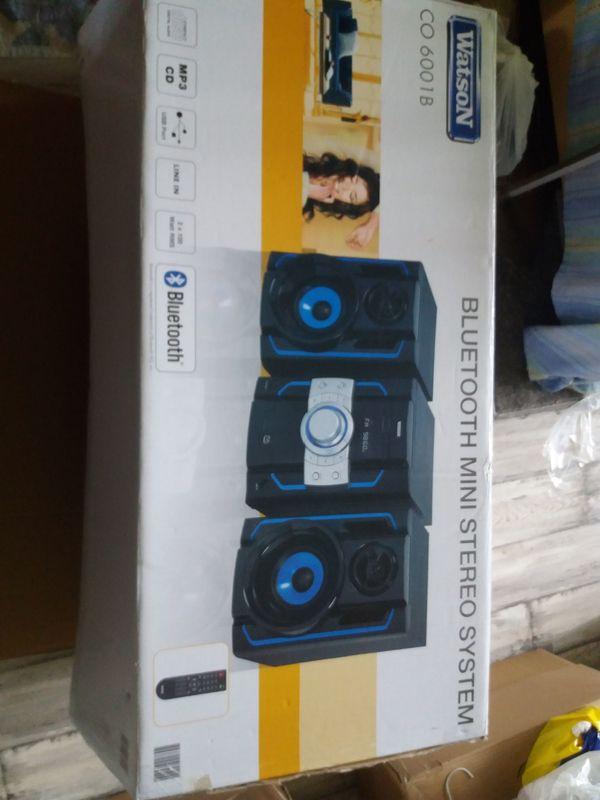 Watson Bluetooth Mini Stereo System, gebraucht gebraucht kaufen  90453 Nürnberg
