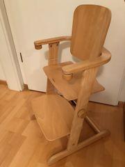 kinderhochstuhl holz in walldorf kinder baby spielzeug g nstige angebote finden. Black Bedroom Furniture Sets. Home Design Ideas