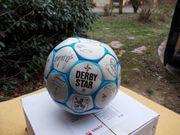Derbystar ball mit orginal unterschriften