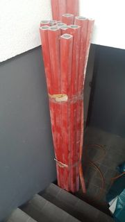 18x Rohrisolierung 2 m rot