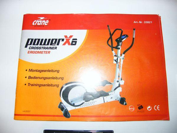 crane power heimtrainer bedienungsanleitung crane. Black Bedroom Furniture Sets. Home Design Ideas