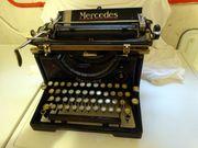 Historische Schreibmaschine MERCEDES Vintage Retro