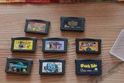 Gameboy Advance verschiedene Spiele