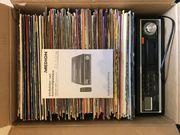 Vinyl Schallplatten und