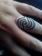 Silber 925 Ring Neu size
