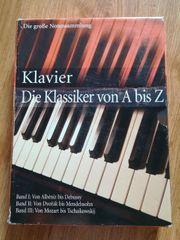 Notenbuch Klavier - Die Klassiker von