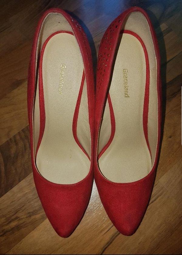 Sehr schicke rote High Heels von Graceland Gr. 39 in Stuttgart ... f810e45442