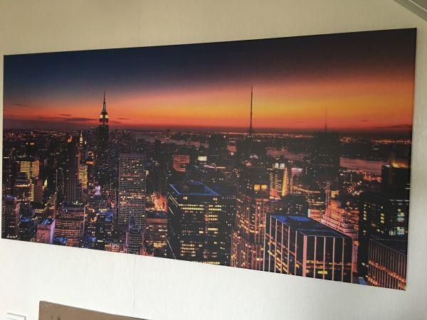 New York Leinwandbild ~ Leinwandbild new york skyline 1 2mx0 6m in mannheim dekoartikel