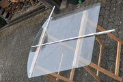 Glasbodenplatte Funkenschutz unter