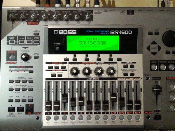 Boss BR 1600 » Studio, Recording (Equipment)