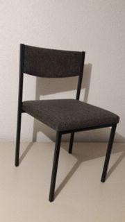 10 Stühle, gepolstert