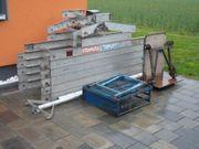 14m Steinweg Aufzug Dachaufzug Dachdeckeraufzug