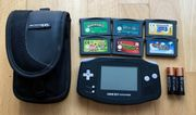 Gameboy Advance + 6