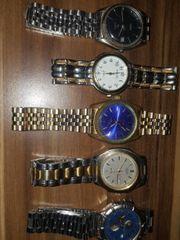 verkaufe verschiedene Uhren