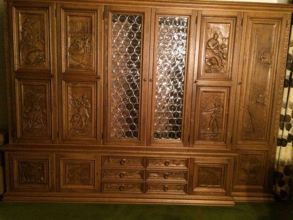 antikes k chenschrank unterteil gebraucht kaufen bei. Black Bedroom Furniture Sets. Home Design Ideas