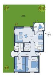 Sehr schöne 3- Zimmer Garten-Wohnung