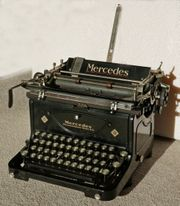 Schreibmaschine mechanisch