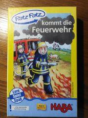 Kinderspiel-Ratz Fatz kommt die Feuerwehr