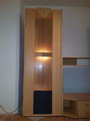 Wohnwand mit Beleuchtung