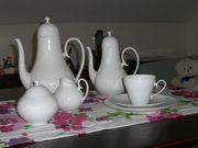 Rosenthal Romanze in Weiß Kaffee- Tafelgeschirr