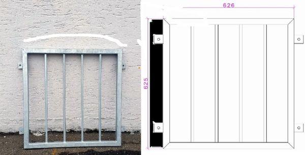 einzeln absperrbarre gitter fenster tuer einbruchschutz verzinktes metall in n rnberg t ren. Black Bedroom Furniture Sets. Home Design Ideas