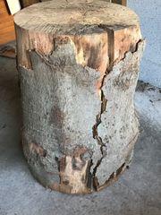 Feuerholz Holzhackklotz