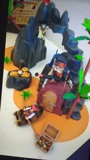 Piraten-Playmobil Schatzinsel