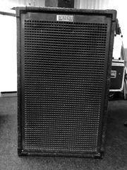 Band PA Boxen 4 x