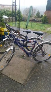 verkaufe Fahrräder