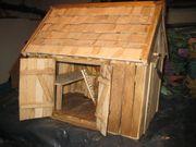 Holzmodelle Heustadel als Kripperl