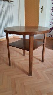 antiker Tisch, braun