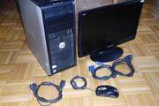 PC + Monitor + Maus