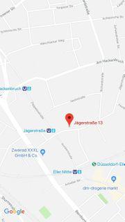 Düsseldorf Jägerstrasse Garage sicher sauber