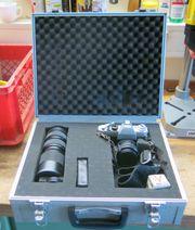 Cosina Hi-Lite 405 Spiegelreflexkameramit 2