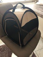 Neuwertige Vogeltransporttasche 2x benutzt mit