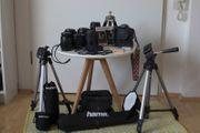 Canon EOS 600D plus Objektive