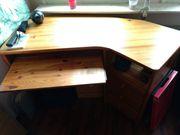 Bürotisch Computertisch Eck-Schreibtisch Arbeitstisch PC-Tisch