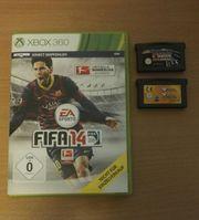 2 Gameboy Spiele FIFA 14