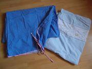 Blauer Himmel Babybett Bettwäsche Set