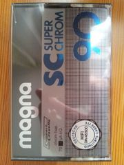Audiokassette - MAGNA super chrome Kassette -