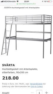 Ikea Svärta Hochbett