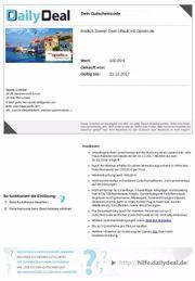100 EUR Reisegutschein
