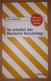 So arbeitet der Deutsche Bundestag -