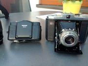 Analog-Fotoausrüstung zu