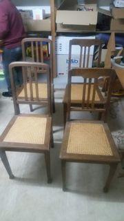 Stühle antik retro vintage Küchenstuhl