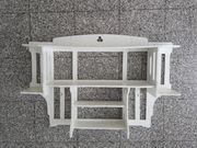 Regal antik Holz weiß