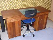 Schreibtisch, Jugend, Mahagoni,