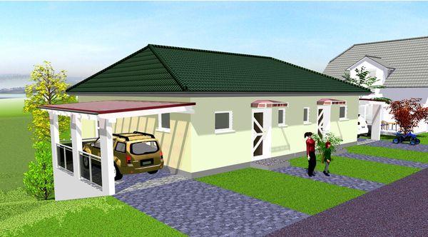 Massives Doppelhaus Einfamilienhaus Für Die Junge Familie In
